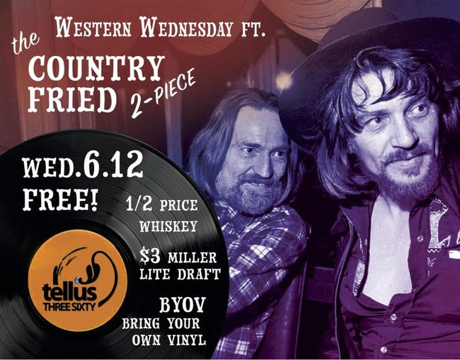 Western Wednesday w/ The Country Fried Duo
