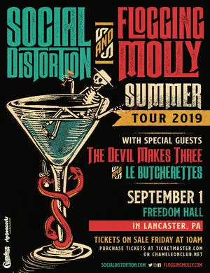 Social Distortion and Flogging Molly