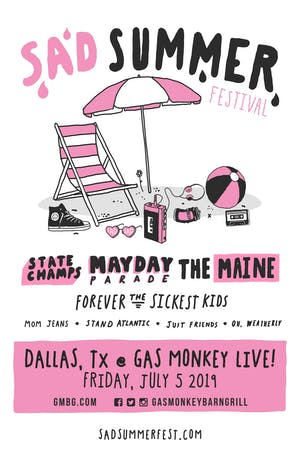 Sad Summer Festival at Gas Monkey Live!