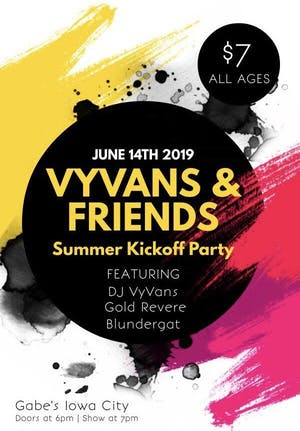 VyVans & Friends Summer Kickoff Party