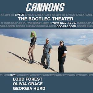 Cannons album release show