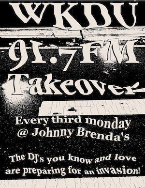 WKDU Takeover with DJ Derek H and friends