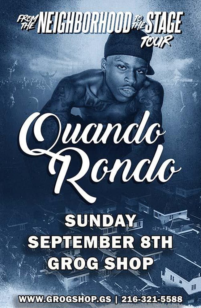 Quando Rondo - From the Neighborhood to the Stage Tour