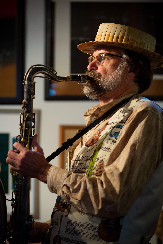 "Scott Robinson Quartet Presents: ""Tenormore"""