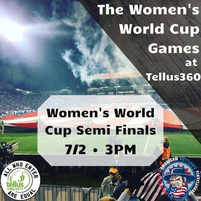 Women's World Cup Semi Finals USA v England