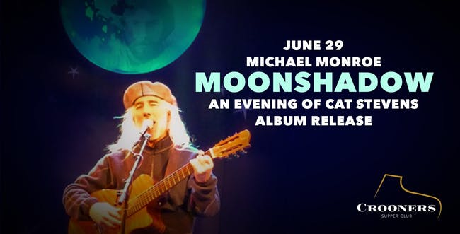 Moonshadow: Michael Monroe Sings Cat Stevens Album Release