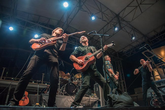 The Young Dubliners plus Black Mountain Symphony
