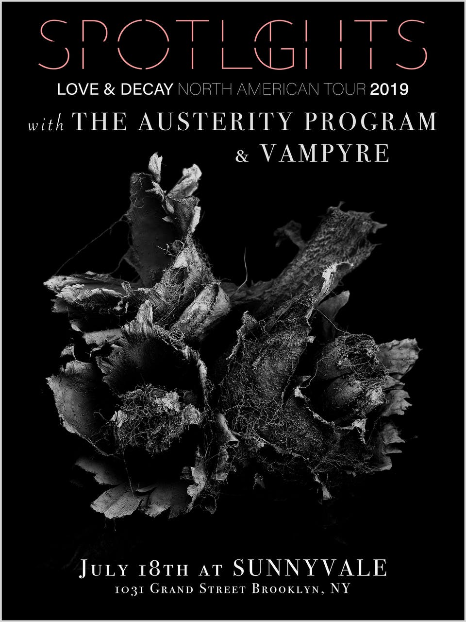 Spotlights w/ The Austerity Program, Vampyre