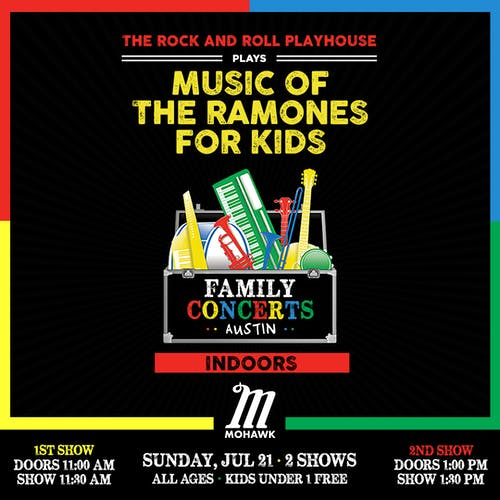 Music of The Ramones for Kids @ Mohawk (Indoor)