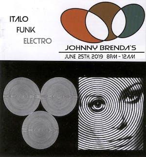 DJ IanE spins Italo, Funk & Electro