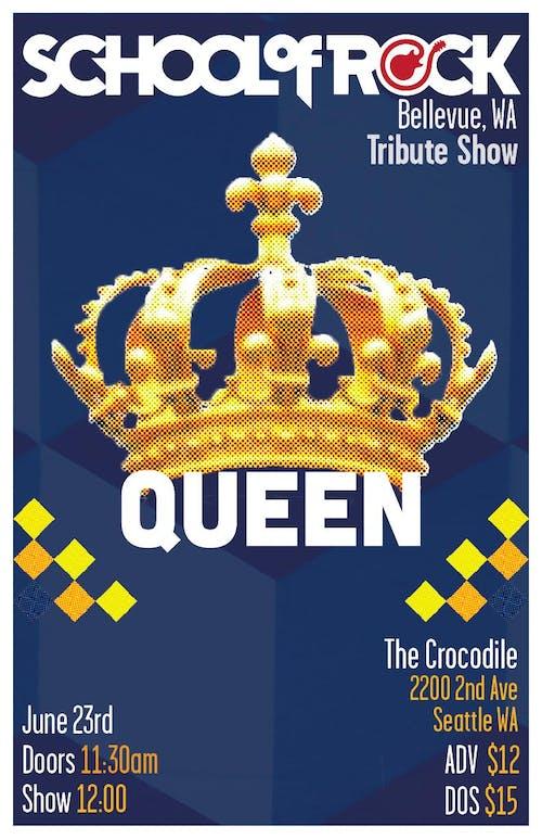 School of Rock Bellevue Performs: Queen