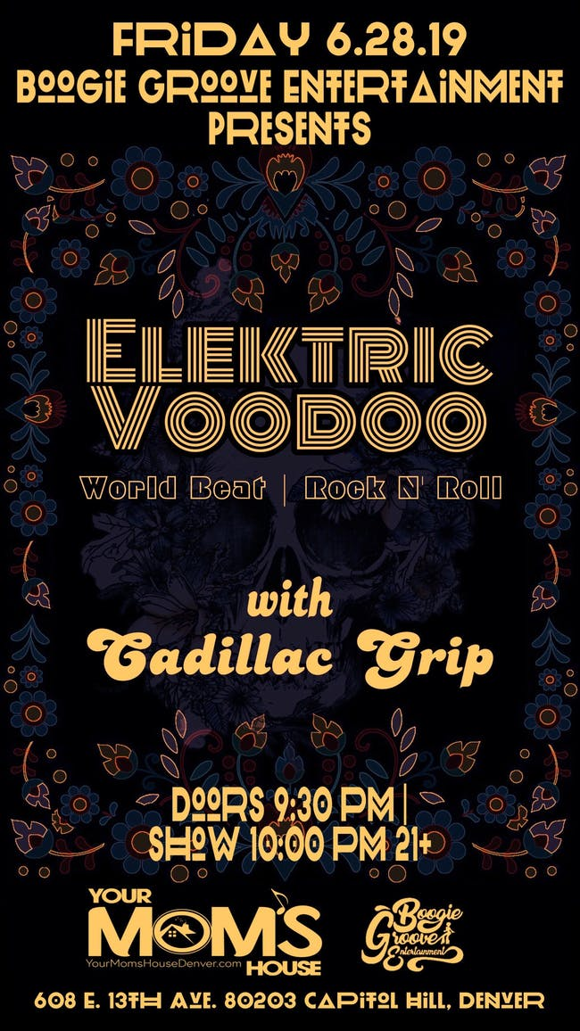 Elektric Voodoo w/ Cadillac Grip