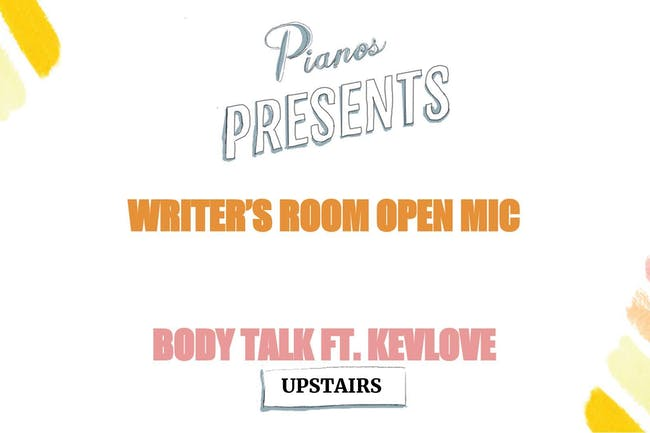 Writer's Room, Body Talk Ft. Kevlove (FREE)