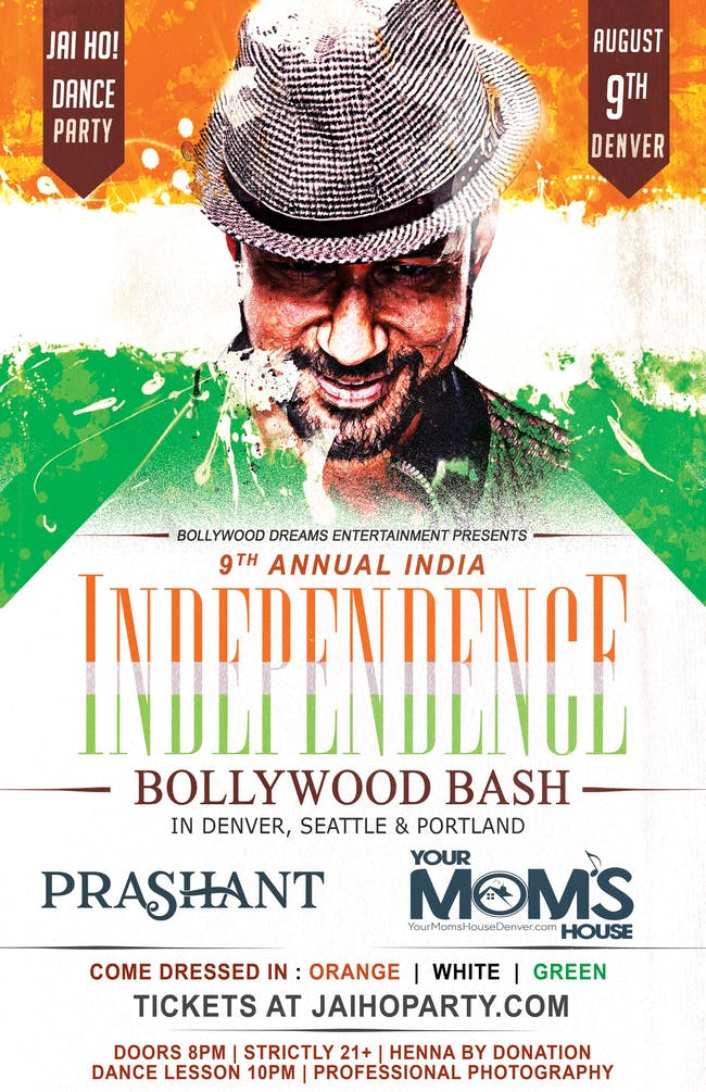 Jai Ho Dance Party: India Independence Bash