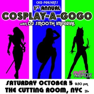 1st Annual CEG Cosplay A-Go-Go Dance Party