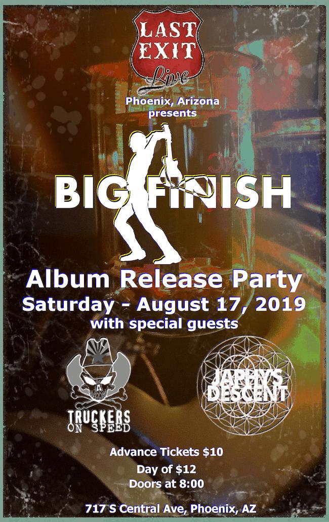 Big Finish - Album Release