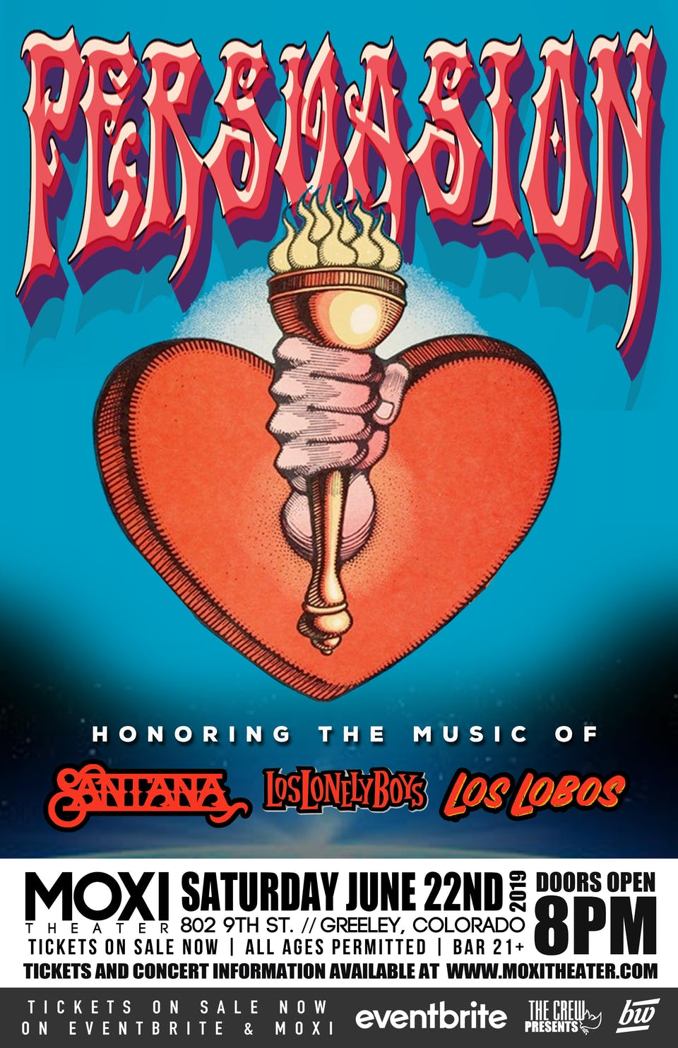 Persuasion - Honoring the Music of Santana, Los Lobos, and Los Lonely Boys