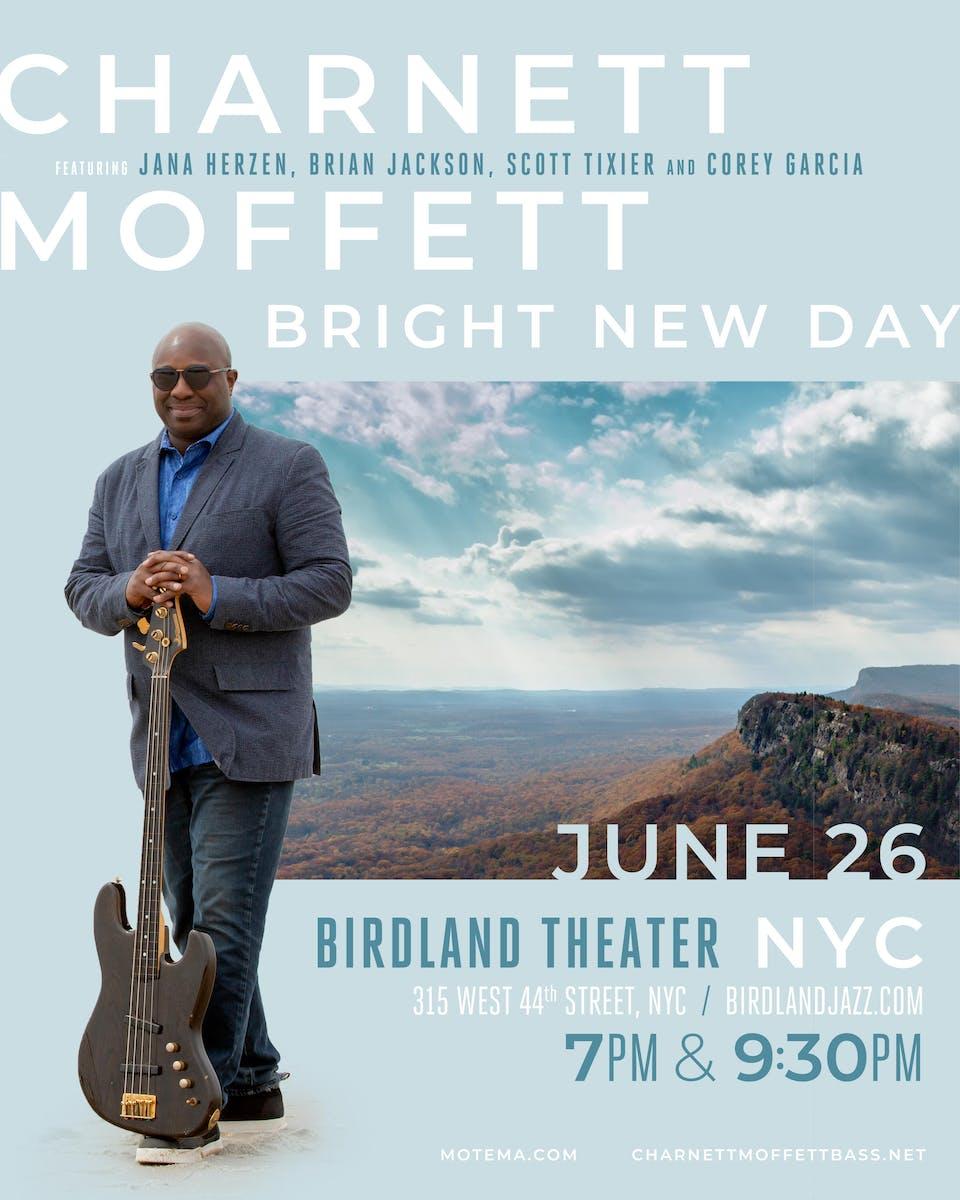 Charnett Moffett's Bright New Day: CD Release