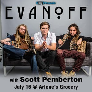 Evanoff with Scott Pemberton Band