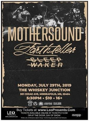 *Whiskey Junction* MOTHERSOUND w/ Forthteller, Sleep Waker and more