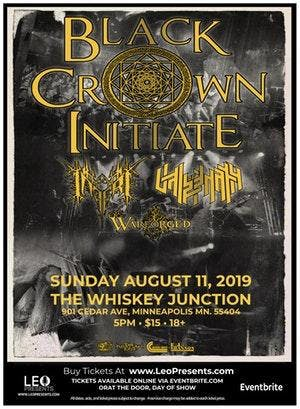 *Whiskey Junction* BLACK CROWN INITIATE w/ Vale Of Pnath, Inferi, Warforged