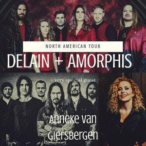 DELAIN + AMORPHIS w/ Anneke van Giersbergen