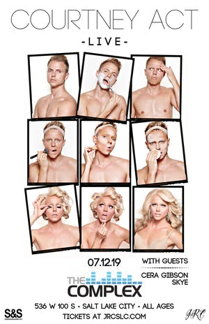 Courtney Act *LIVE*