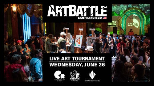 Art Battle San Francisco - June 26, 2019