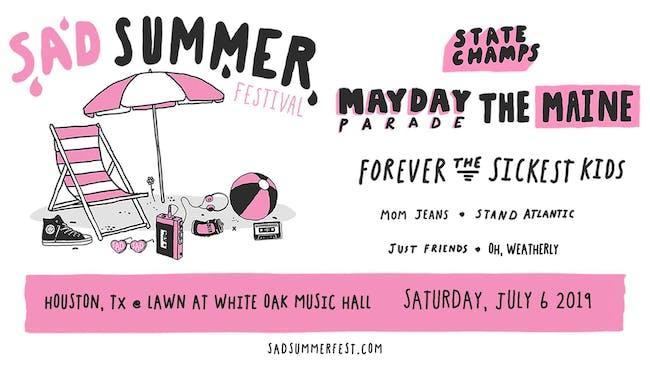 Sad Summer Festival at White Oak Music Hall