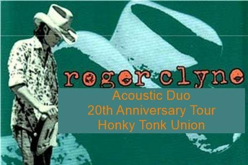 Roger Clyne (Acoustic Duo) doing a 20th anniversary Honky Tonk Union Tour