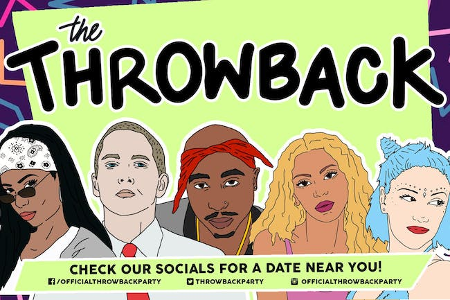 The Throwback Party at Wooly's