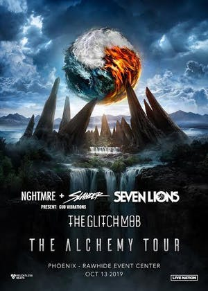 Alchemy Tour: NGHTMRE + Slander, Seven Lions, The Glitch Mob
