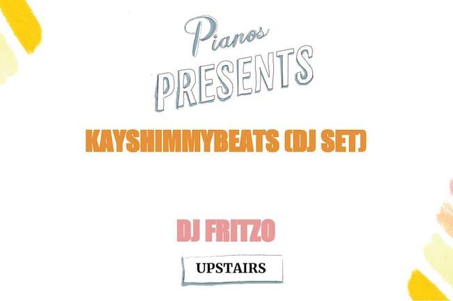 DJ Kayshimmybeats, DJ Fritzo ($8 after 10PM)