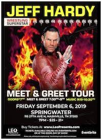 Jeff Hardy Meet & Greet Tour