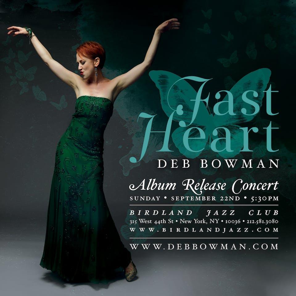 "Deb Bowman ""Fast Heart"" Album Release"