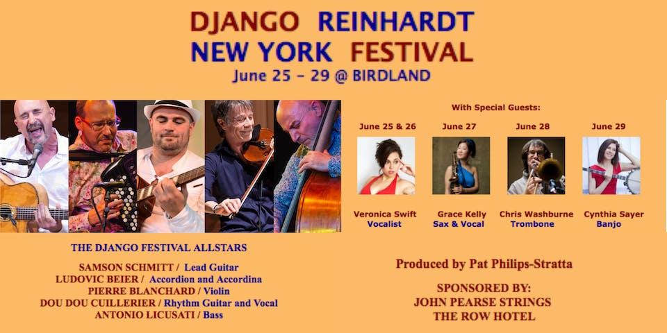 Django Reinhardt Festival: Samson Schmitt, Pierre Blanchard and more!