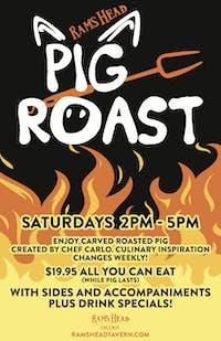 Saturday Pig Roast