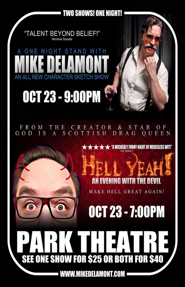 A One Night Stand with MIKE DELAMONT