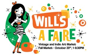 Will's A Faire Vintage & Indie Art Fall Market