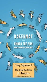 Bakermat –Under The Sun Tour