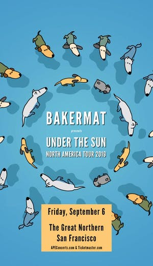 Bakermat – Under The Sun Tour