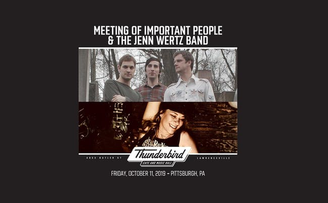 Meeting of Important People / The Jenn Wertz Band / Nik Westman