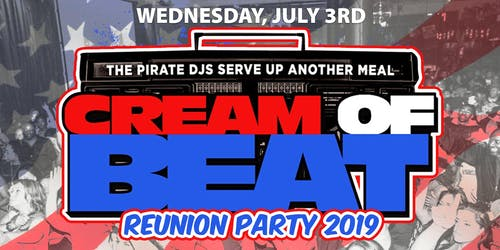 CREAM OF BEAT REUNION - 4TH OF JULY WEEK CELEBRATION w MIND MOTION + more