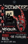 SIDEWINDERS [30TH ANNIVERSARY of WITCHDOCTOR] w/ The Pistoleros
