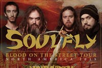 """SOULFLY """"Blood On The Street Tour"""""""