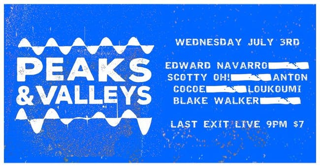 Peaks & Valleys w/ Friends