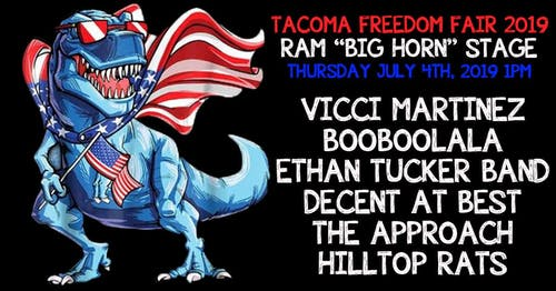 Tacoma Freedom Fair - Ram Stage