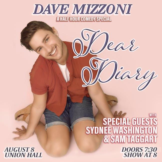 Dave Mizzoni: Dear Diary