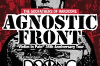 "Agnostic Front ""Victim In Pain"" 35th Anniversary Tour w/ Prong and Lacerate"