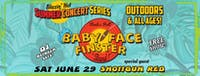 Free Outdoor Concert with Baby Face Finster